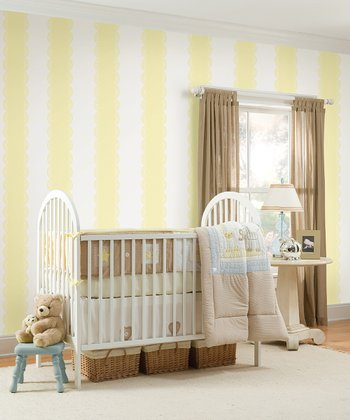 Buttercup Stripe Wall Decals Set