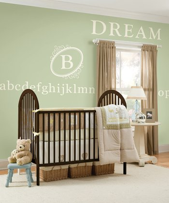 Southampton Ivory Monogram & Ivory Alphabet Wall Decals Set