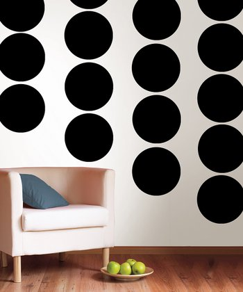 Blackjack Dot Wall Decal - Set of Five