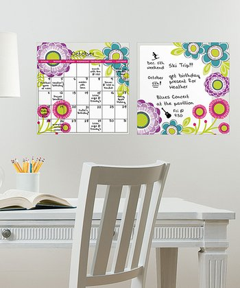 Poppy Dry-Erase Decal Set