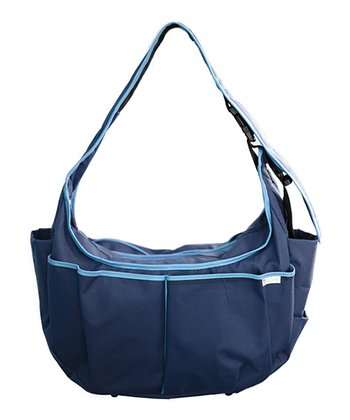 Himalayan Blue Hobo Original Diaper Bag/Nursing Pillow