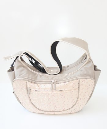 Vanilla Chai Hobo Couture Diaper Bag/Nursing Pillow
