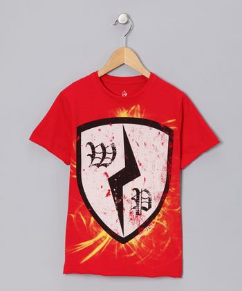 Volcano Lightning Shield Tee - Toddler & Boys