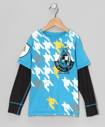Lagoon Tumble Tooth Layered Tee - Boys