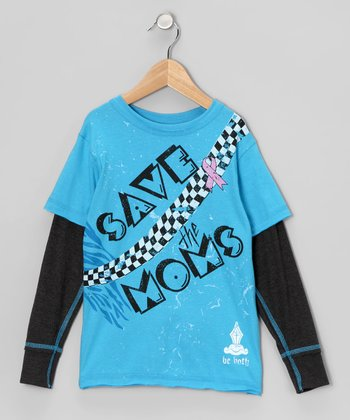 Lagoon 'Save the Moms' Layered Tee - Toddler & Boys