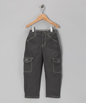 Gray Cargo Pants - Infant & Toddler