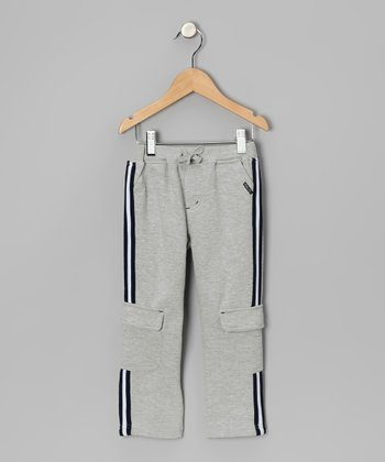 Light Gray Cargo Pants - Toddler