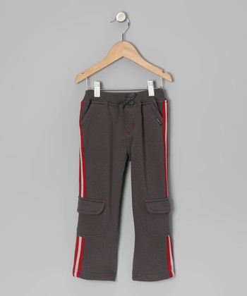 Dark Gray Cargo Pants - Infant