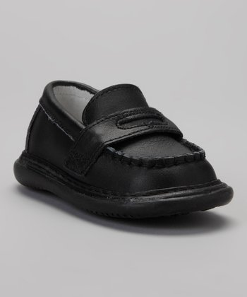 Black Squeaker Loafer