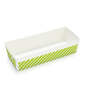 Green Stripe Loaf Pan - Set of Six
