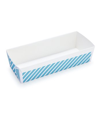 Blue Stripe Loaf Pan - Set of Six