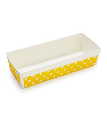 Yellow Polka Dot Loaf Pan - Set of Six