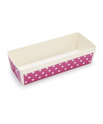 Purple Polka Dot Loaf Pan - Set of Six