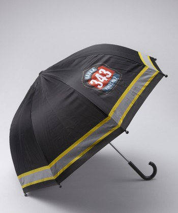 Black 'Fire Chief' Umbrella