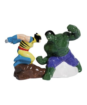 The Incredible Hulk Salt & Pepper Shakers