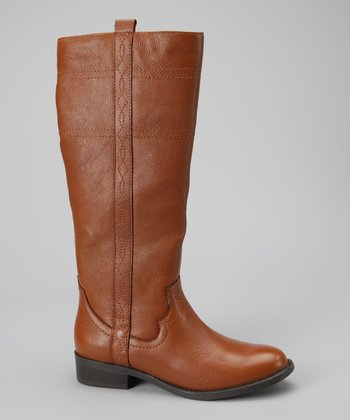 White Mountain Cognac Law Boot