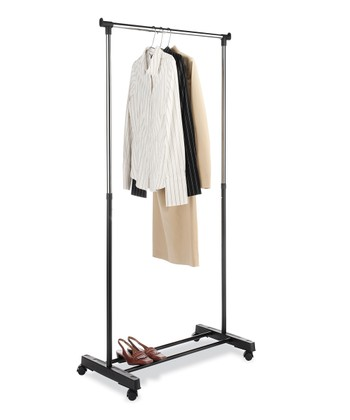 Black Adjustable Garment Rack