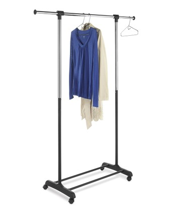 Black Extendable Garment Rack