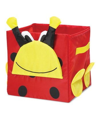 Red Ladybug Collapsible Cube