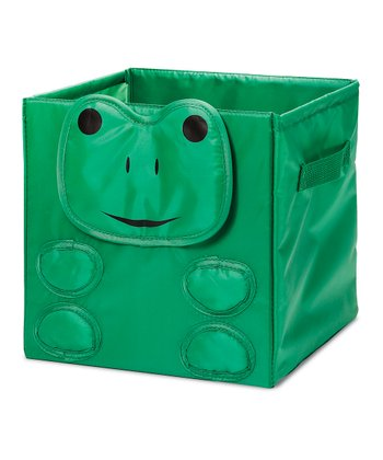 Green Frog Collapsible Cube
