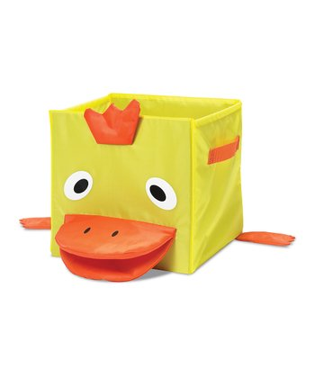 Yellow Duck Collapsible Cube