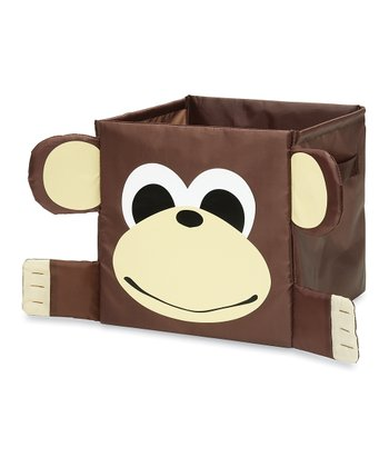 Brown Monkey Collapsible Cube