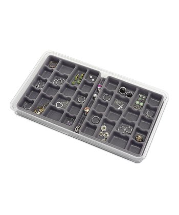 36-Section Stackable Jewelry Tray