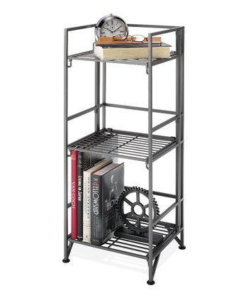 Three-Tier Folding Shoe Rack