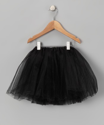 Black Tulle Tutu - Girls