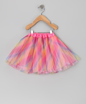 Pink Rainbow Tutu - Infant, Toddler & Girls