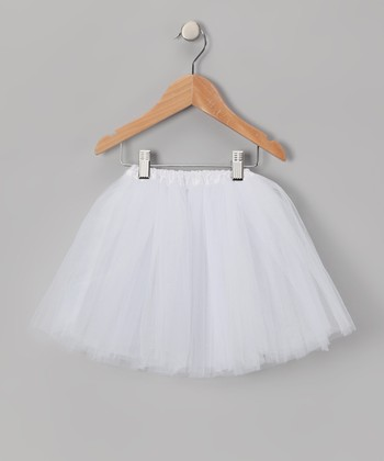 White Tulle Tutu - Infant, Toddler & Girls