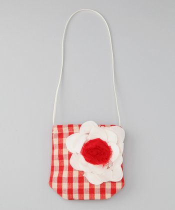 Red Plaid Petit Pretty Purse