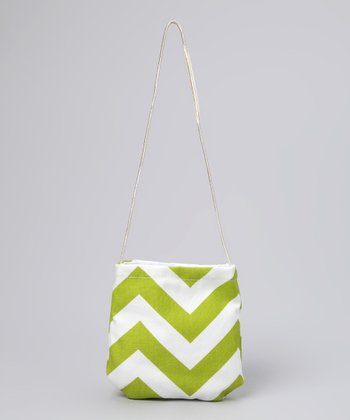 Green Zigzag Petit Purse