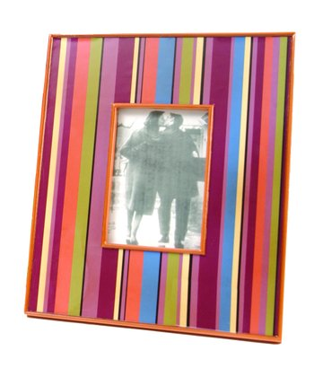 Retro Stripe Frame