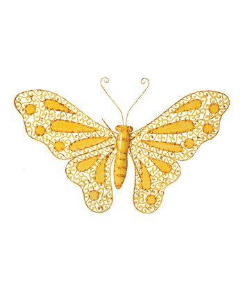 Yellow Butterfly Wall Art