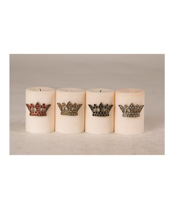 Crown Candle Pin Set