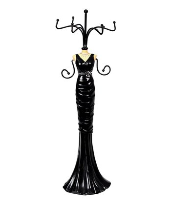 Black Dress Jewelry Holder