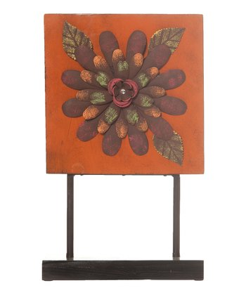 Flower Tabletop Plaque