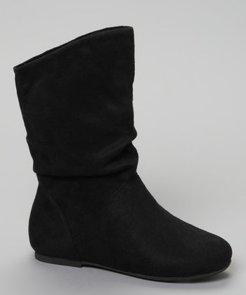 Black Slouchy Kali Boot