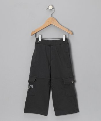 Charcoal Cargo Pants - Toddler & Boys