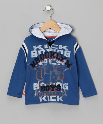 Blue 'Brooklyn Boys' Tee - Toddler & Boys