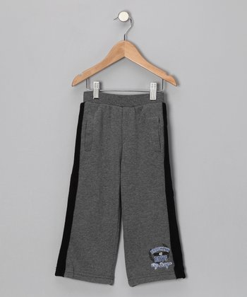 Gray 'Brooklyn City League' Warm-Up Pants - Toddler