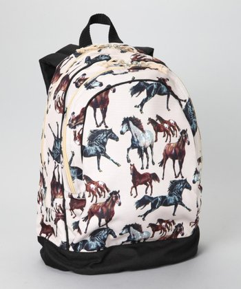 Cream Horse Dream Sidekick Backpack