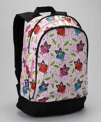 Pink Owls Sidekick Backpack