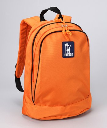 Orange Sidekick Backpack