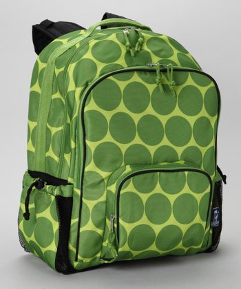 Green Big Dot Macropak Backpack
