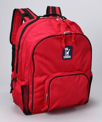 Straight-Up Red Macropak Backpack