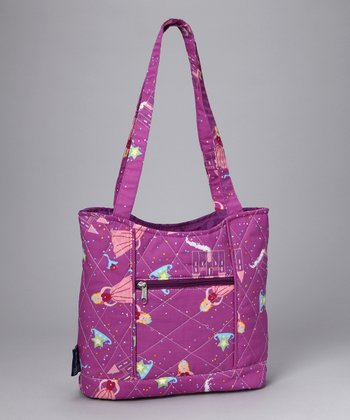 Purple Princess Quilted Tote