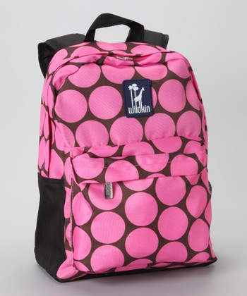 Pink Big Dot Tagalong Backpack