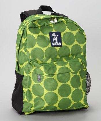 Green Big Dot Tagalong Backpack
